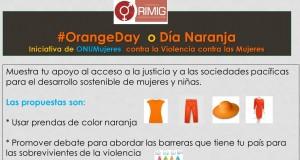OrangeDay o Día Naranja